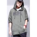 HOPE 帽 T外套 (軍綠)