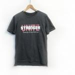 Stronger Unite 長版T-Shirt【岩石灰】
